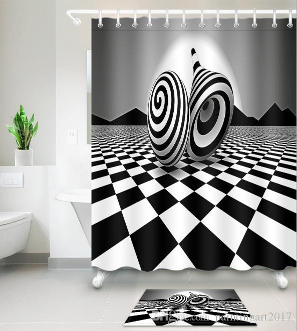 bath shower curtains modern style