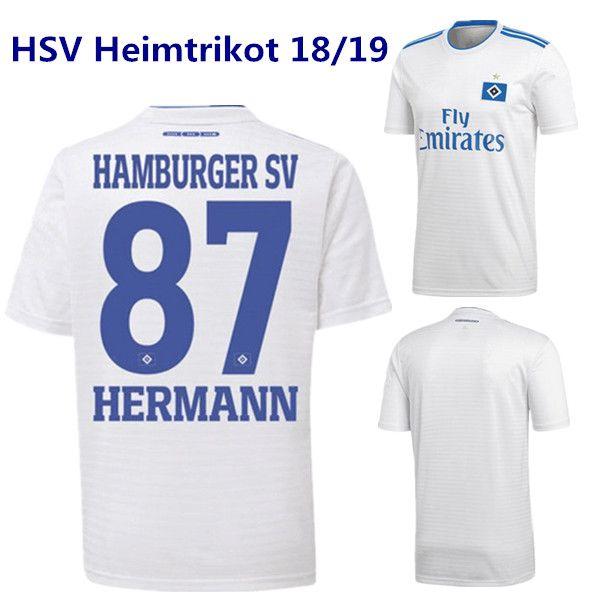 grosshandel hsv heimtrikot 18 19 hamburger sv arp wintzheimer lasogga samperio trikot trikot sportverein holtby hunt janjicic ekdal heimtrikot von