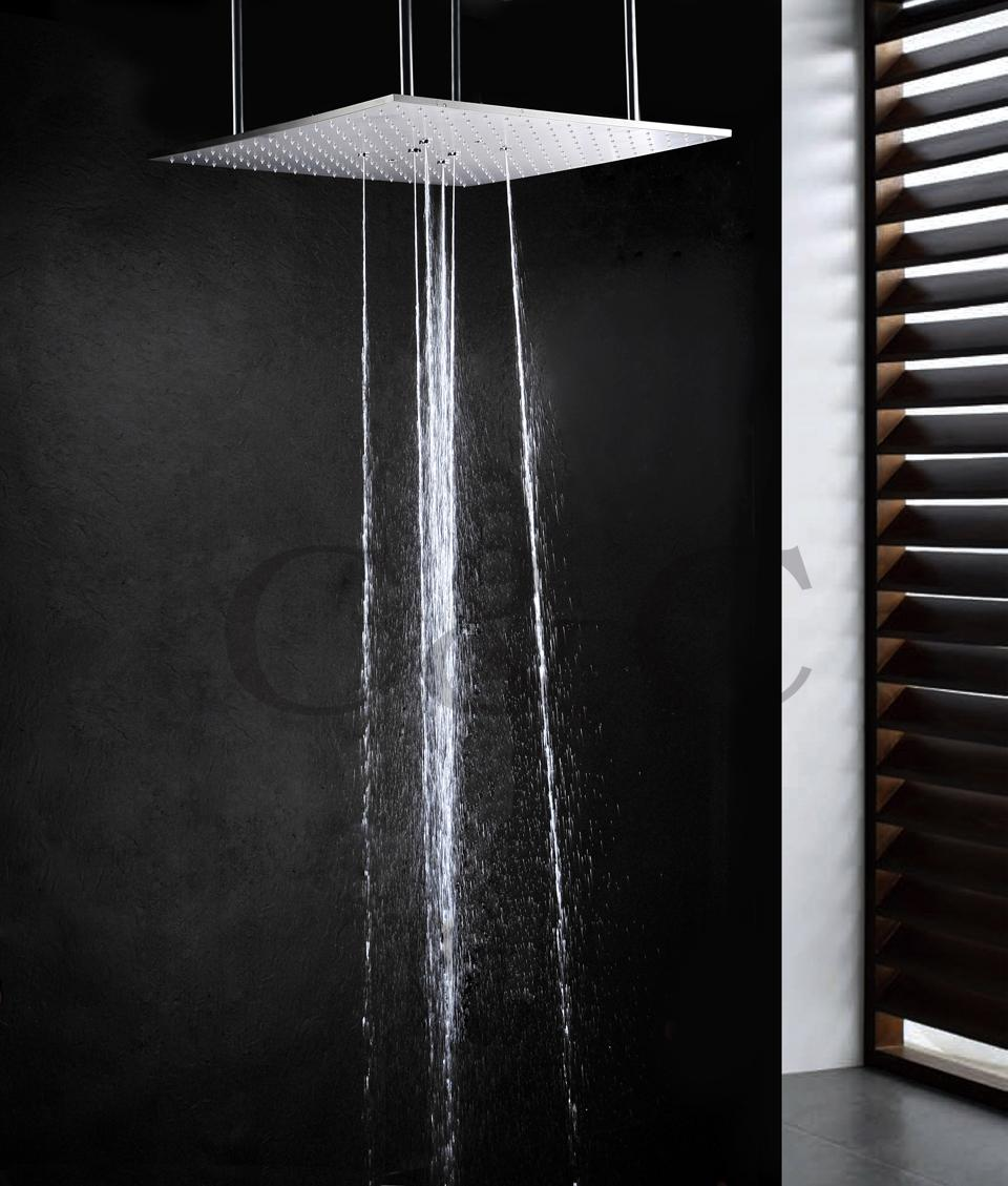 2019 20 Inch Ceiling Mounted Stainless Steel Top Shower Bathroom Swash And Rain Shower Head From Sheiler 336 98 Dhgate Com
