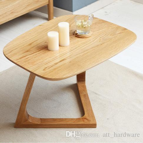 2021 european solid wood coffee table