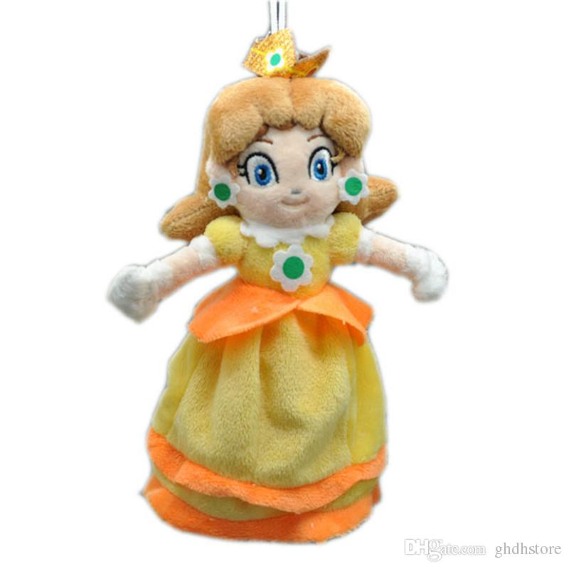 2020 Hot New 8 20cm Super Mario Bros Princess Daisy Plush Doll Anime Collectible Stuffed Dolls Best Gifts Soft Toys From Ghdhstore 5 24 Dhgate Com