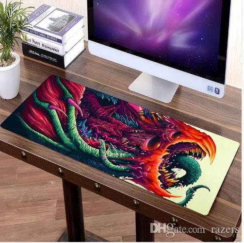 acheter fffas 80x30cm grand custom diy tapis de souris souris gamer clavier tapis xl table protecteur doux gaming mousepad pour tablet pc latop chaude