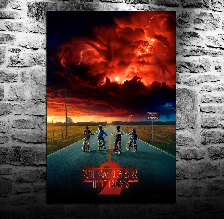 2021 stranger things season 2 poster 2