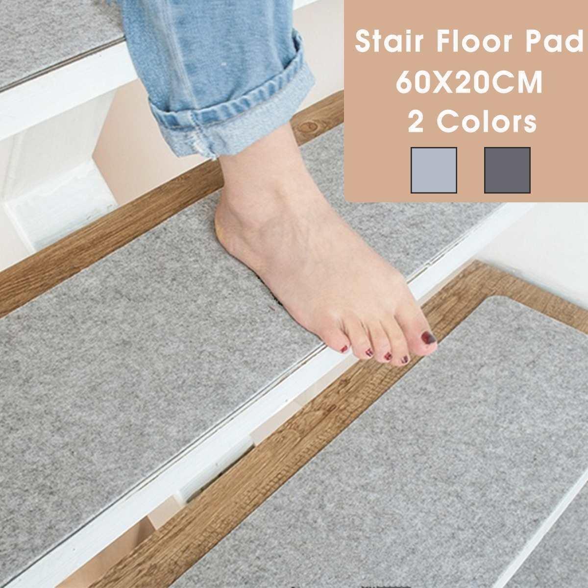 60X20Cm Non Slip Stair Carpet Mat Reusable Washable Diy Floor Mat | Stairway To Darkness Rug | Area | Tardis | 3 Dimensional | Floor | Scary