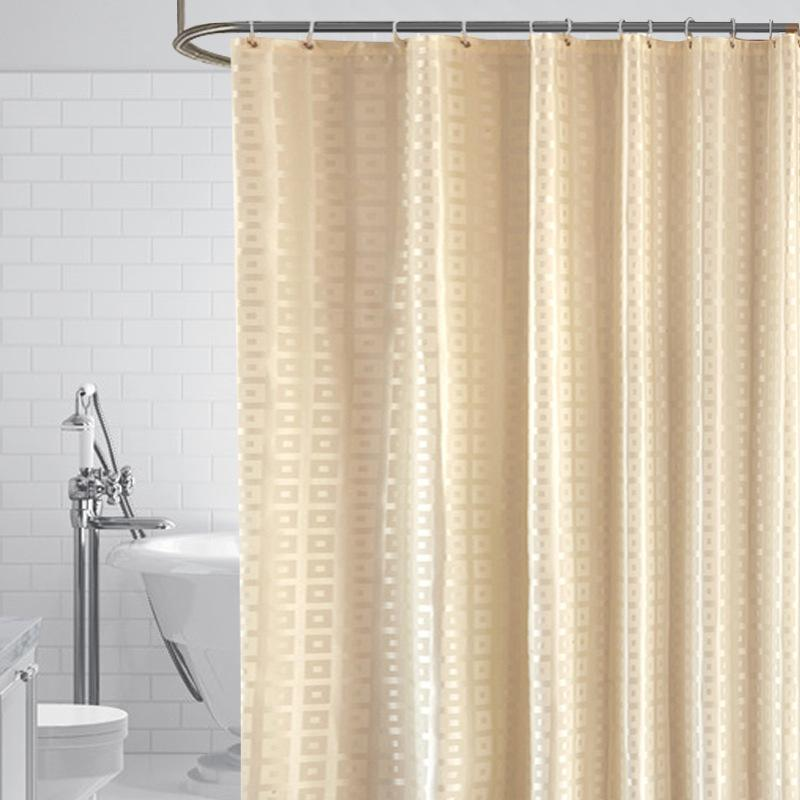 2021 gold shower curtains for hotel