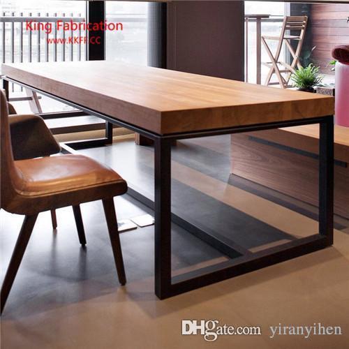 acheter cafe occasionnel americain table de bar murale en fer table longue en bois massif pour la maison bar starbucks table et chaise hautes de