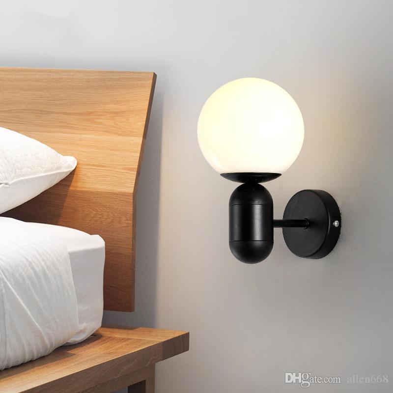 modern wall lamp bedroom bedside wall
