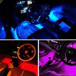 4in1 Car Interior Decorative Light 12 Led Atmosphere Blue Lamp Charge Footwell Cool Interior Car Accessories Cool Interior Truck Accessories From Auto Motorcycle 01 12 05 Dhgate Com