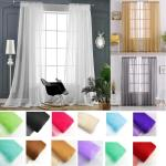 2019 Modern Living Room Tulle Curtains Solid Bedroom Window Tulle Curtains Sheers Europe Voile Treatments Drapes From Fair2015 35 29 Dhgate Com