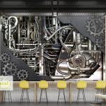 Bacal Custom Wall Mural 3d Retro Industrial Wind Coffee Shop Bar Restaurant Backdrop Wall Painting Living Room 5 Wallpaper Mural Hd Wallpaper Hd Hd Wallpaper Hd Wallpaper Hd Wallpaper From Sophine12 19 40