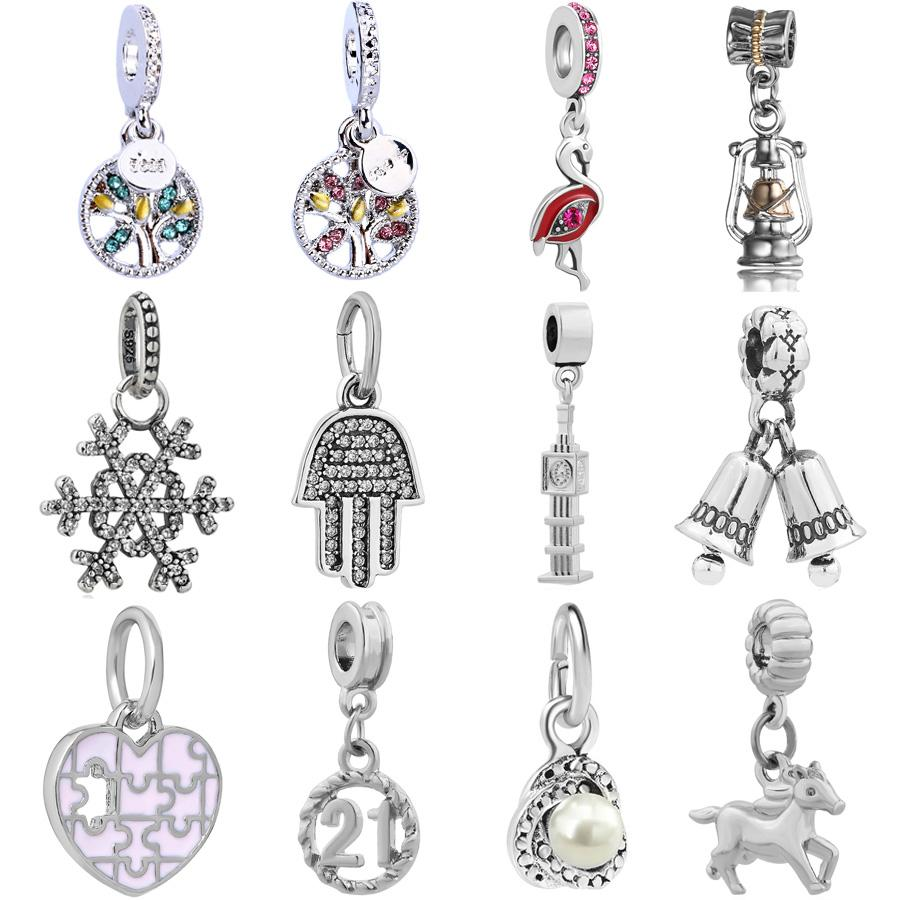 2021 Silver Charm Family Tree 21st Birthday Bead Fit Original Pandora For Women Bracelet Silver Charm Pendant Fashion Jewelry Making From Pingwang2 135 05 Dhgate Com