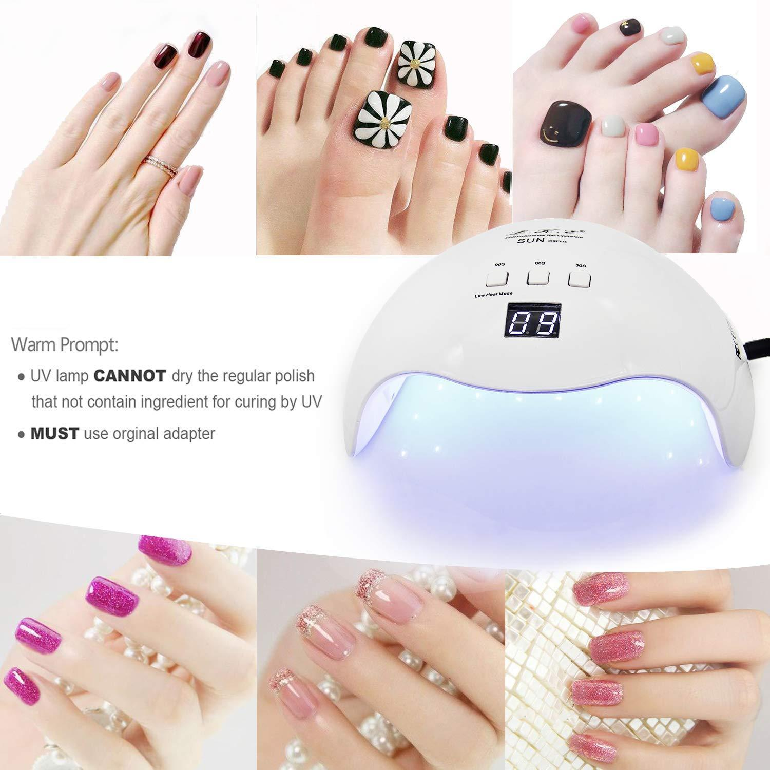 2020 48w Led Nail Lamp Manicure Curing Lamp With 30s 60s 99s