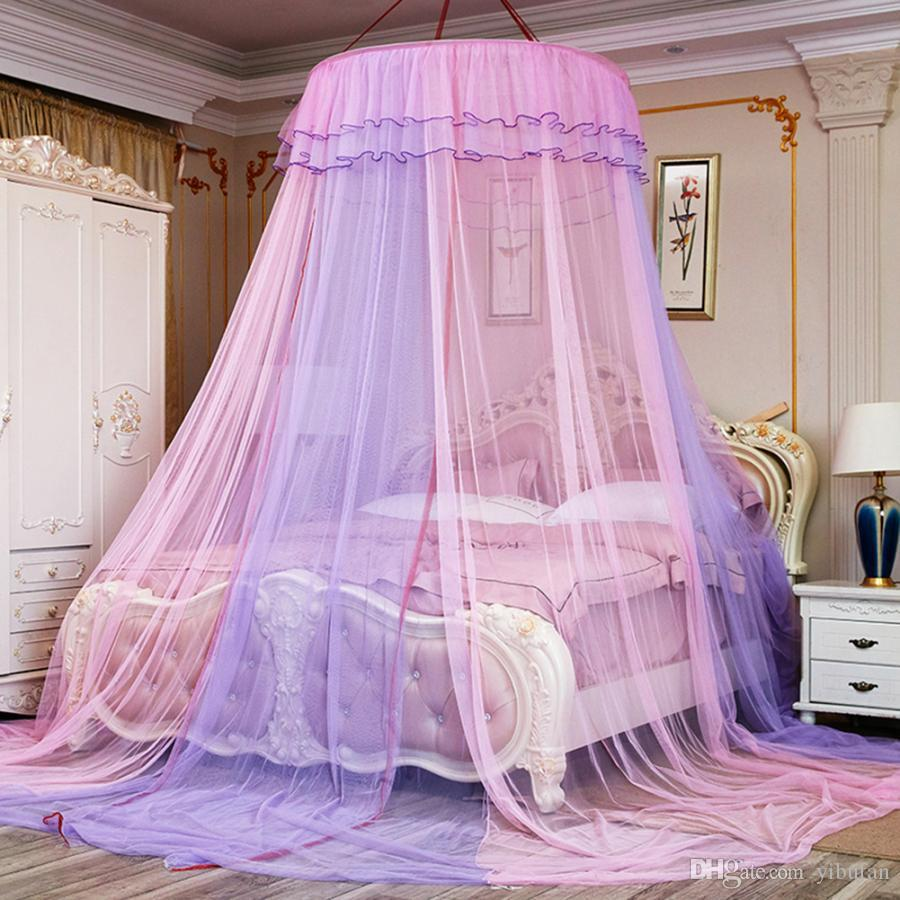 lace princess style mosquito net bed