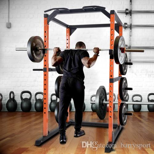 olympic power rack pull up bar squat