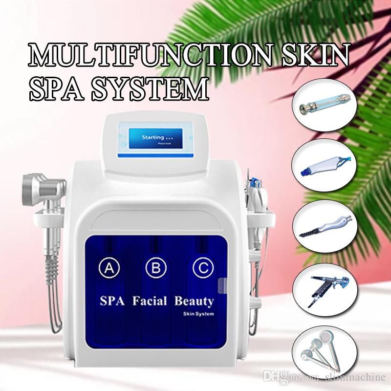 New Hydra Facial Machine Bio Face Lifting Diamond Microdermabrasion Machine Rf Needle Free Mesotherapy Beauty Device Microdermabrasion Kits