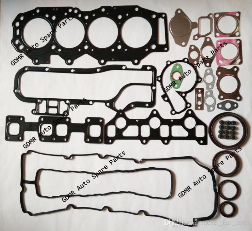 Bt50 Engine Overhaul Kit Gasket Set
