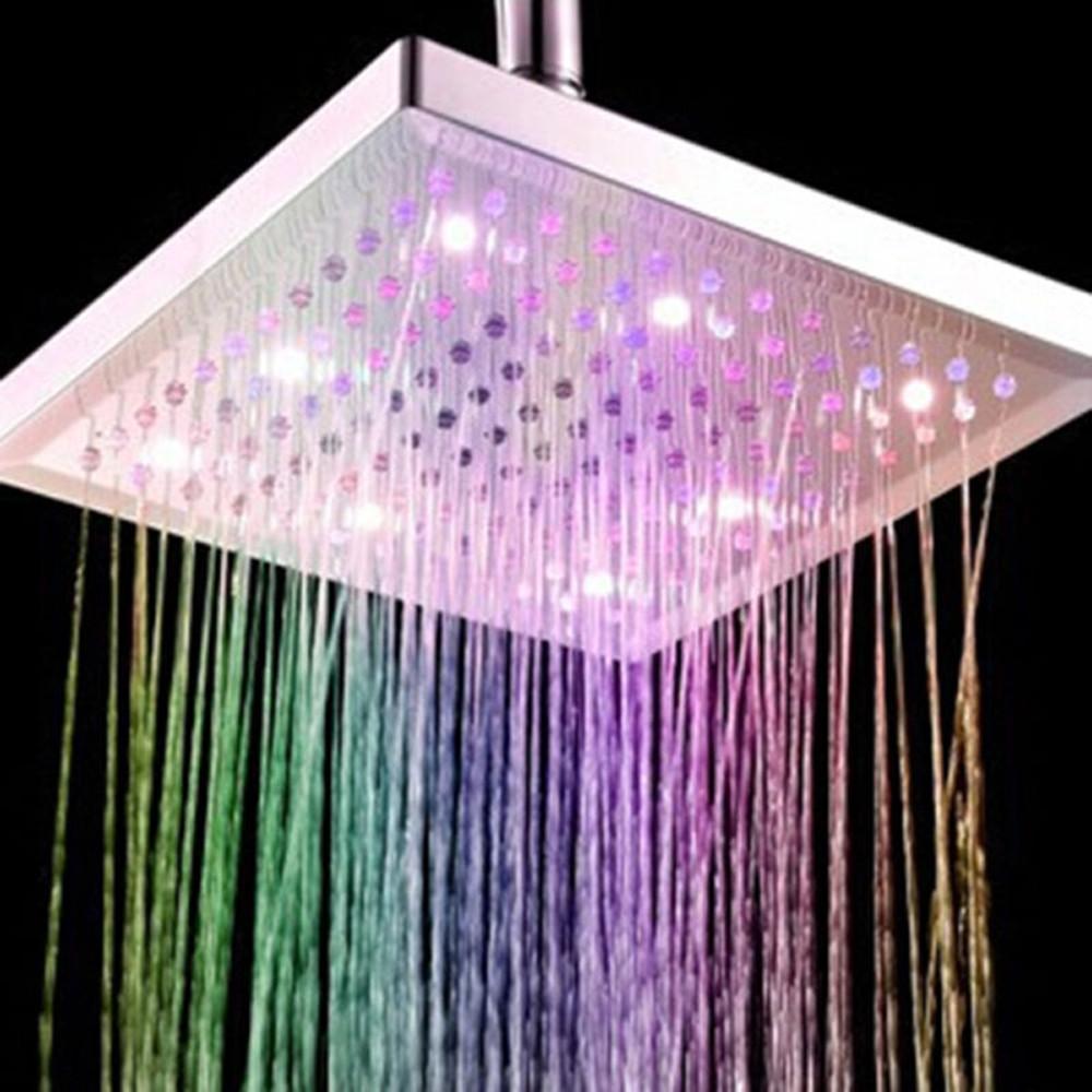 accessories bathroom curtain led