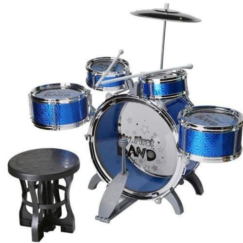 New Jazz Drum Set with Chair Music Educational Toy Instrument for     New Jazz Drum Set with Chair Music Educational Toy Instrument for Kids Toy  Children S Toys Music Toys Online with  86 06 Set on Henyun technology s  Store