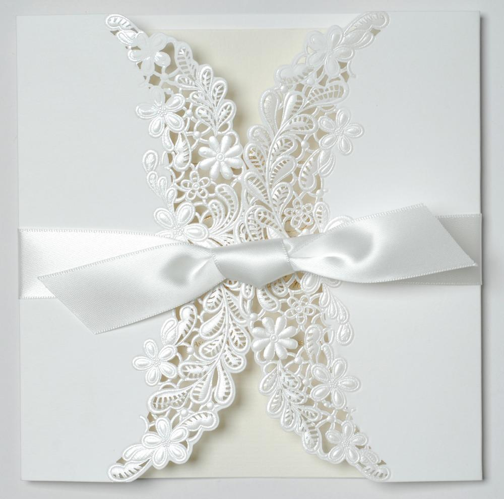 Lace Invitations Wholesale