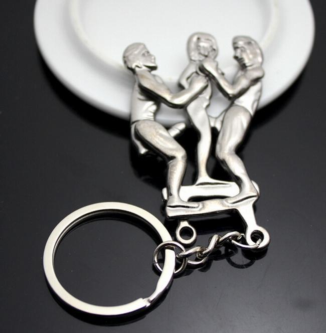 New 8 Design Adult'S Delight Keychain Eros Key Ring ...