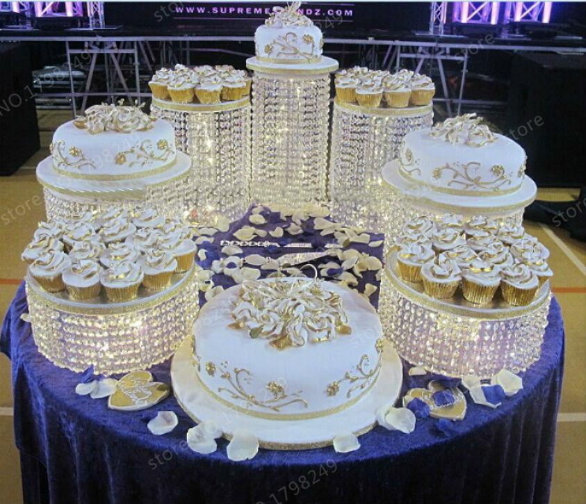 2017 A Wedding Cake Stand K9 Crystal Anniversary Company