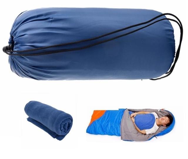 Cm Portable Outdoor Camping Sleeping Bag Fleece Envelope Style Spring Autumn Summer Travel Liner Sleeping Bag Camo Sleeping Bags Little Girl Sleeping