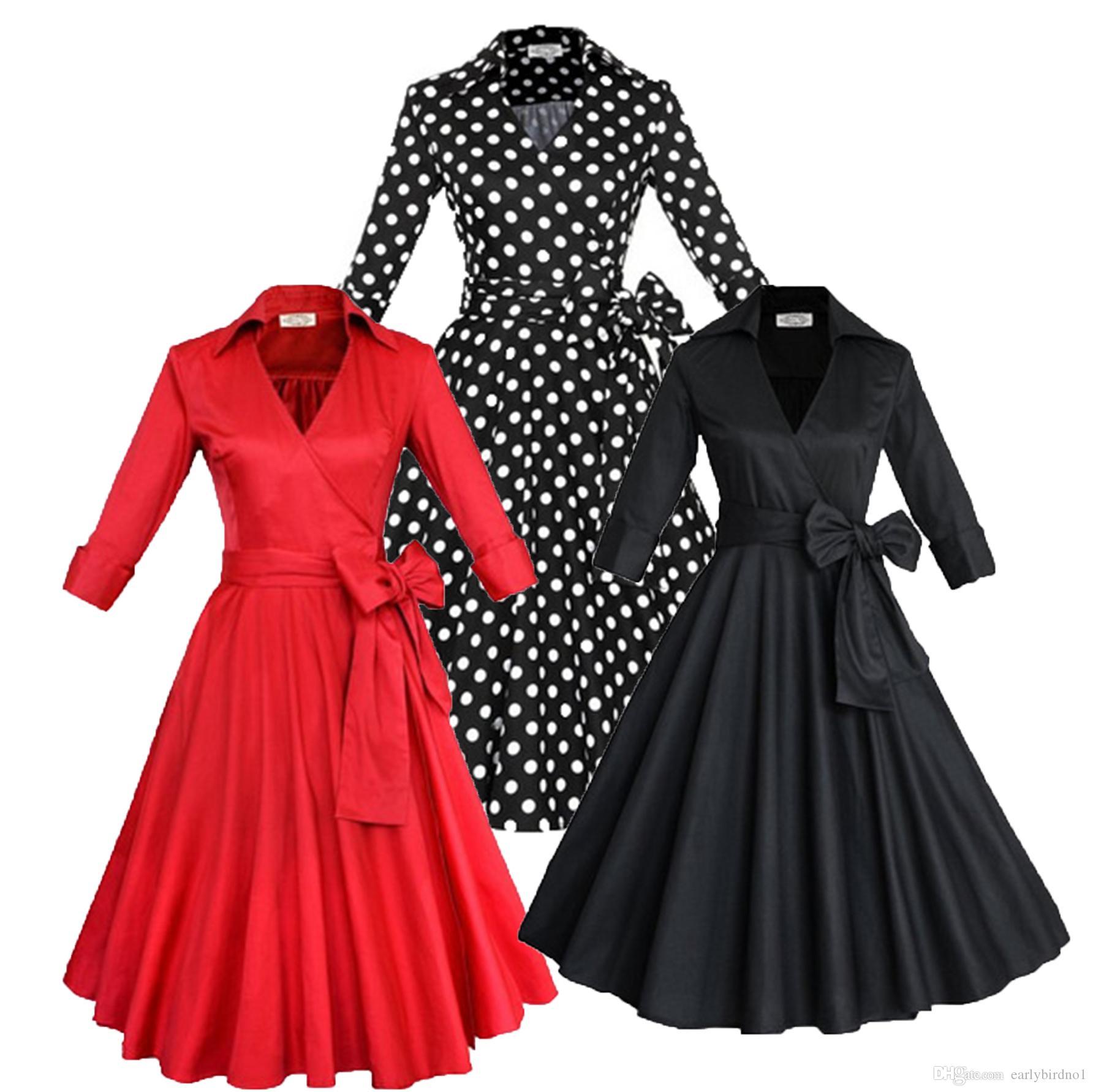 Fashion New Audrey Hepburn Vintage Style Casual