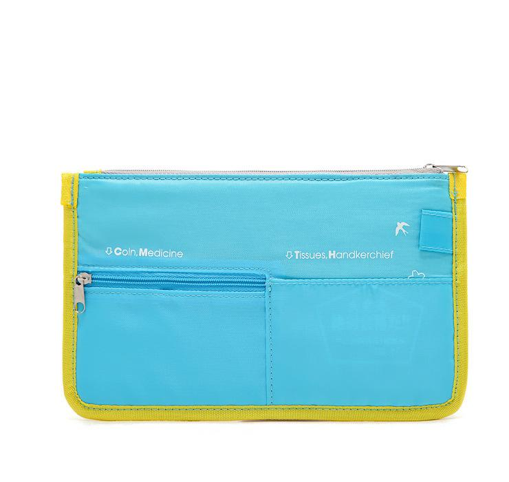 Resultado de imagen de Multifunctional passport bags travel credit ID card holder case document organizer bill ticket purse checkbook for women wallet