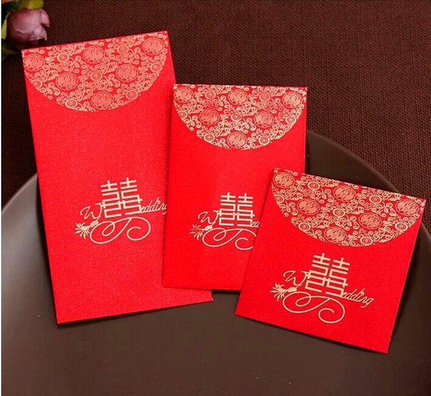2019 China Traditional Wedding Favor Chinese Red Packet