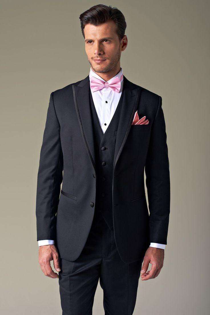 All Black Suit With Vest Go Suits