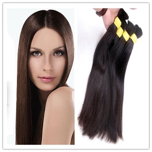 unprocessed virgin indian remy straight hair weave cheap bundles bulk hair virgin human hair