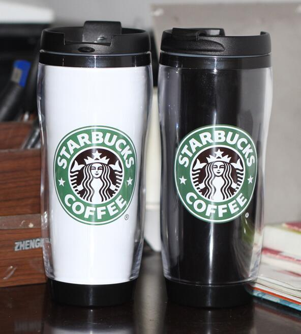 New Style Starbucks Cup Plastic Warm Keeping Mug Coffee