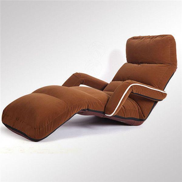 acheter plancher confortable pliant canape chaise longue fauteuil salon meubles moderne tapisse rembourre daybed canape lit inclinable de 130 66 du
