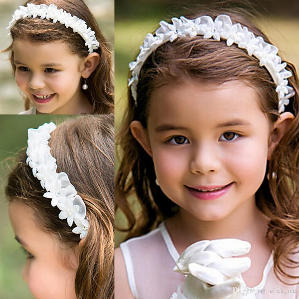 Flower Girl Headbands Toddler Head Flowers Hair