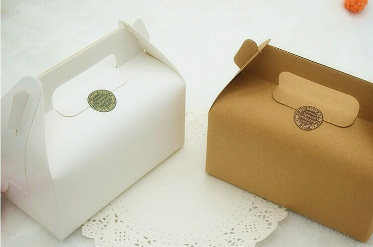 Hot Sell Kraft Paper Cake Package Box - Wedding/ Party ...