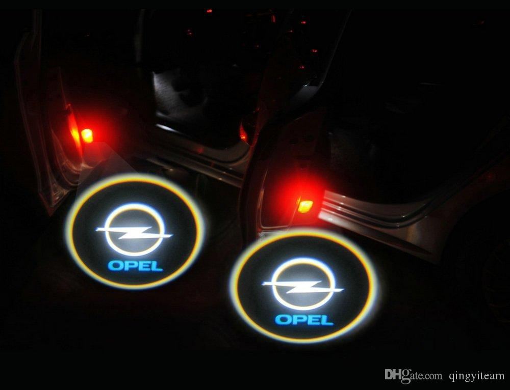 2017 Gold 4th Gen Led Car Door Shadow Laser Projector Logo