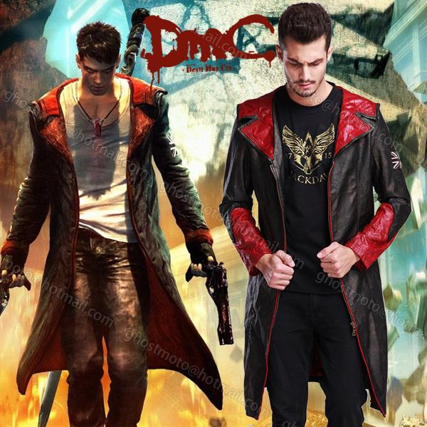 2018 Devil May Cry 5 Dante Game Cosplay Halloween Clothing