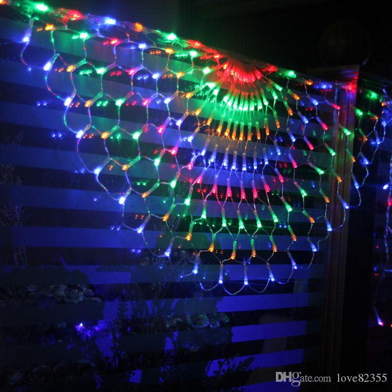 Multi Colored Icicle Christmas Lights