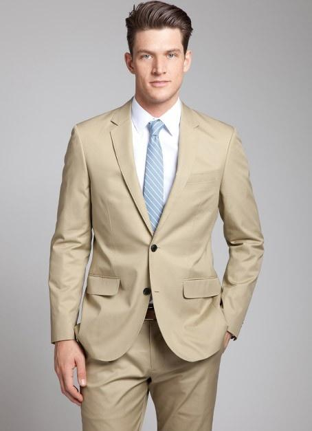 Light Brown Haired Man Suit