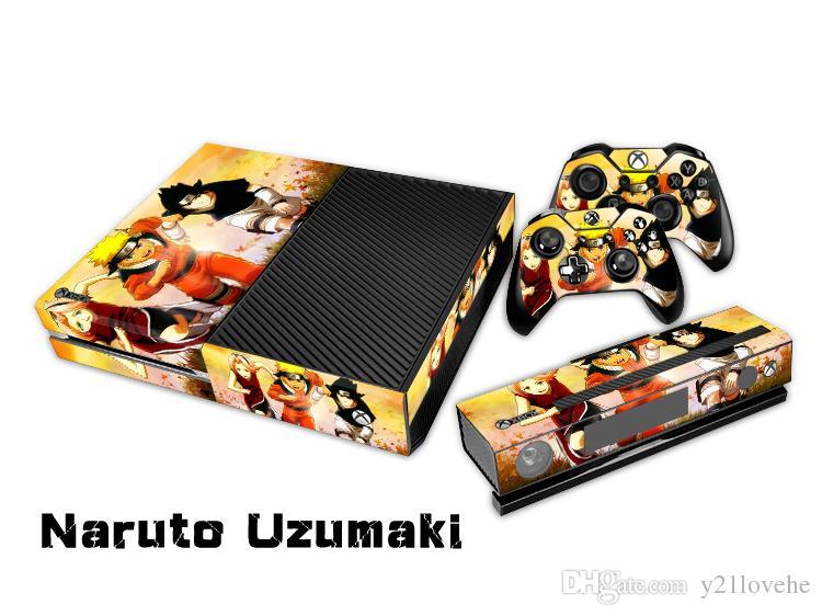 2018 Naruto Uzumaki 0087 Fashion Skin Decal For Xbox One