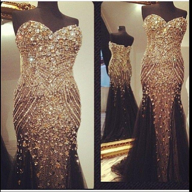 Real Buyer Show Bling Bling Rhinestone Pageant Party Prom Dresses     Real Buyer Show Bling Bling Rhinestone Pageant Party Prom Dresses Black  Sweetheart Special Occasion Gown Fully Beaded Dress Evening Wear Formal  Dress