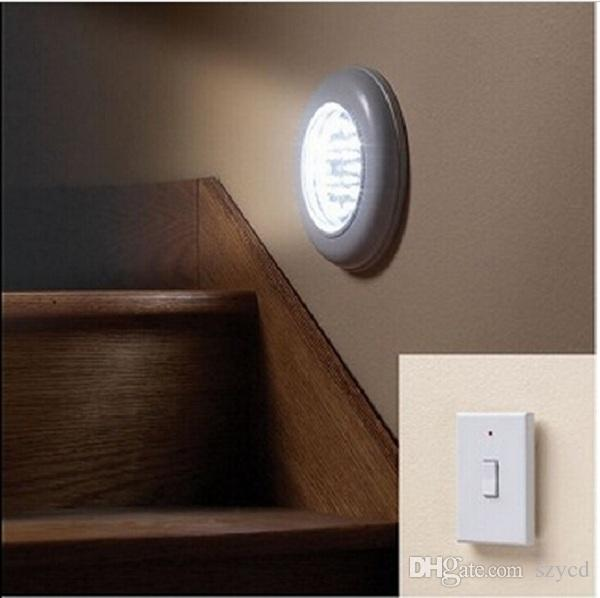 Led Battery Operated Chrome Picture Wall Light