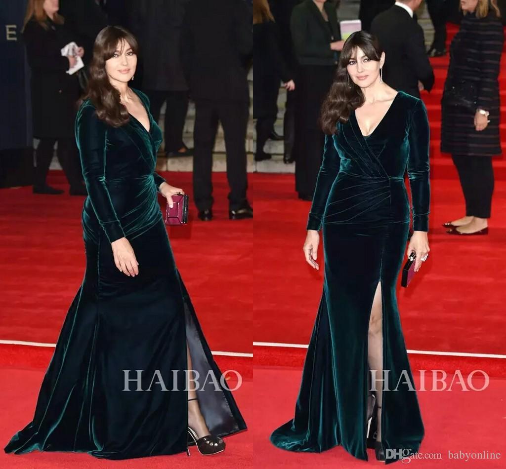 Monica Bellucci 2017 Fall Winter Velvet Red Carpet