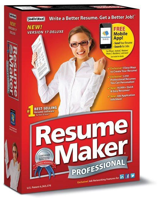 resume writing software resume maker pro 17 system optimization