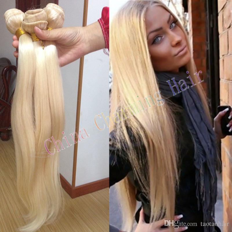 Cheap Honey Blonde Weave 100 Unprocessed Russian 613