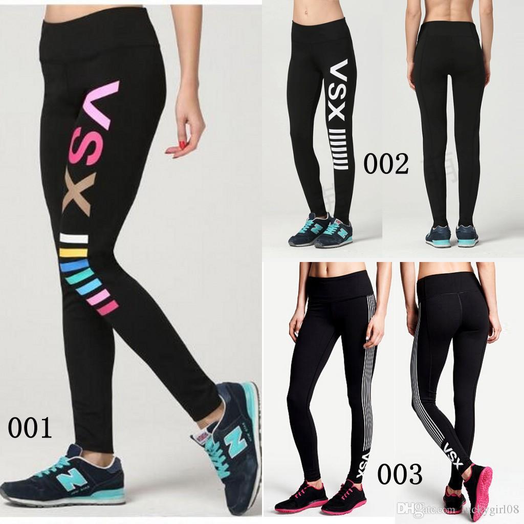 ecd5e1f145 Las Yoga Pants Slim Quick Dry Vs Love Pink Sports Trousers Women