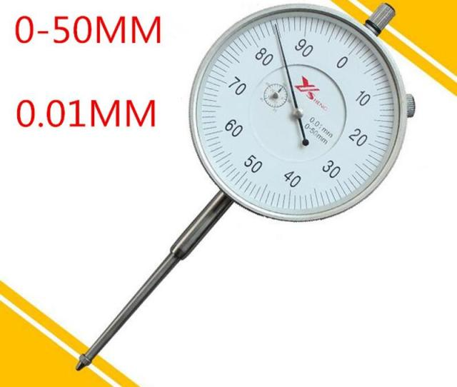 Wholesale 0  01 Mm Dial Indicator Dial Indicator Gauge 0 50mm Measuring Tool In Stock Tool Router Tool Pipe Tool Phone Online With 72 53 Piece On
