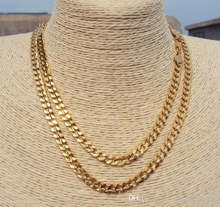 14k Gold Cuban Link Chain 20