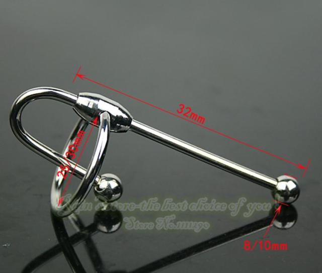 Urethral Plug Sounding Penis 32mm Chastity Device Toys Stainless Steel Ring Sex Products Block Sound Toys Catheters Male The Best Male Enhancement Extends