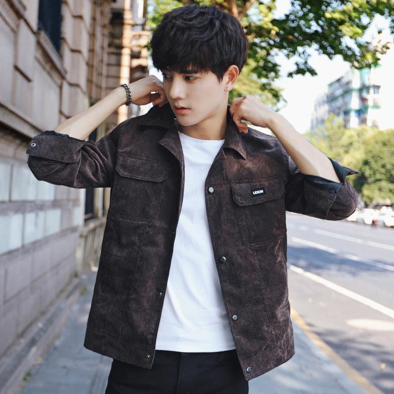 2017 New MenS Casual Jacket Autumn Korean Handsome